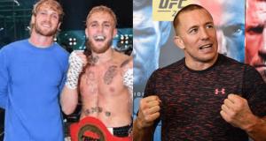 Logan Paul, Jake Paul, GSP, Georges St-Pierre, UFC, boxing
