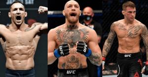 UFC, Michael Chandler, Conor McGregor, Dustin Poirier