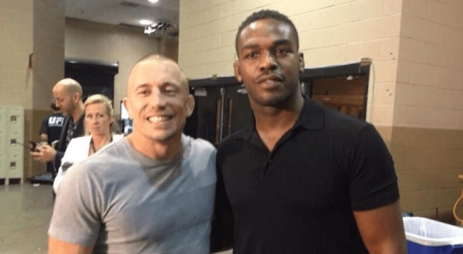 UFC: Georges St-Pierre Offers Jon Jones Some Advice