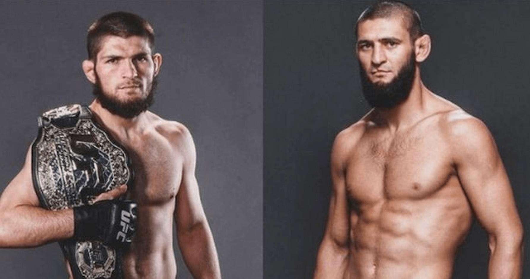 UFC, Khabib Nurmagomedov, Khamzat Chimaev
