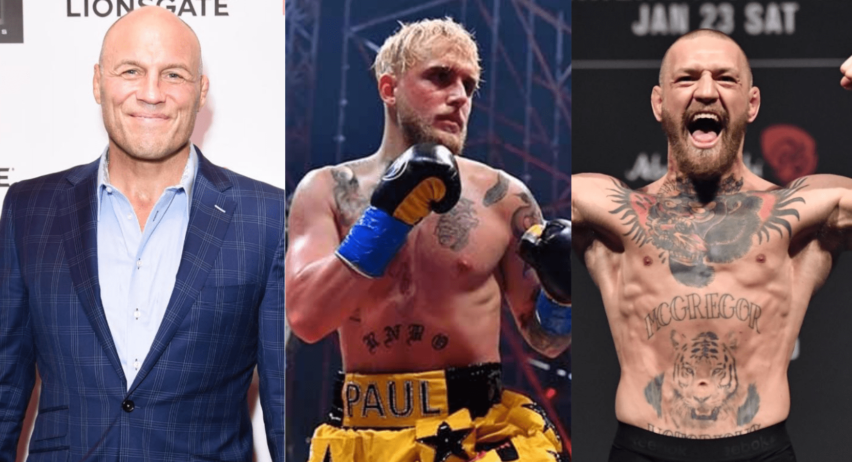 Randy Couture: Jake Paul's Doing More For Fighter Pay Than Conor McGregor