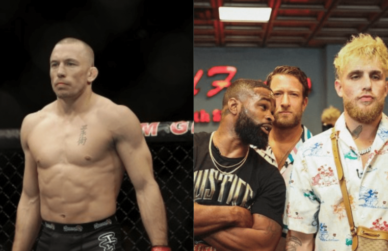 Georges St-Pierre Explains Why Jake Paul Can Beat Tyron Woodley