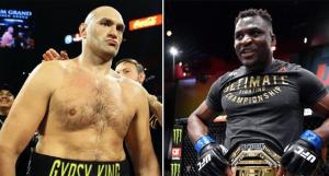 UFC, Tyson Fury, Francis Ngannou, boxing