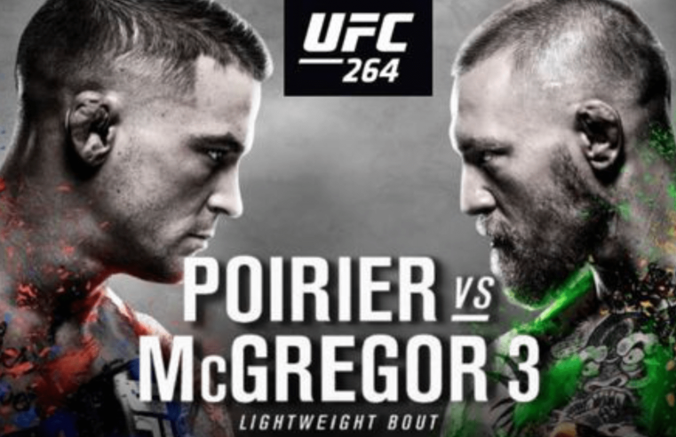 UFC 264: Poirier vs McGregor 3 Results And Post Fight Videos